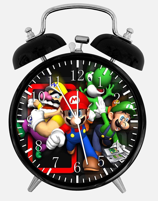 New Super Mario Bros Alarm Desk Clock u Room Decor C Will Be