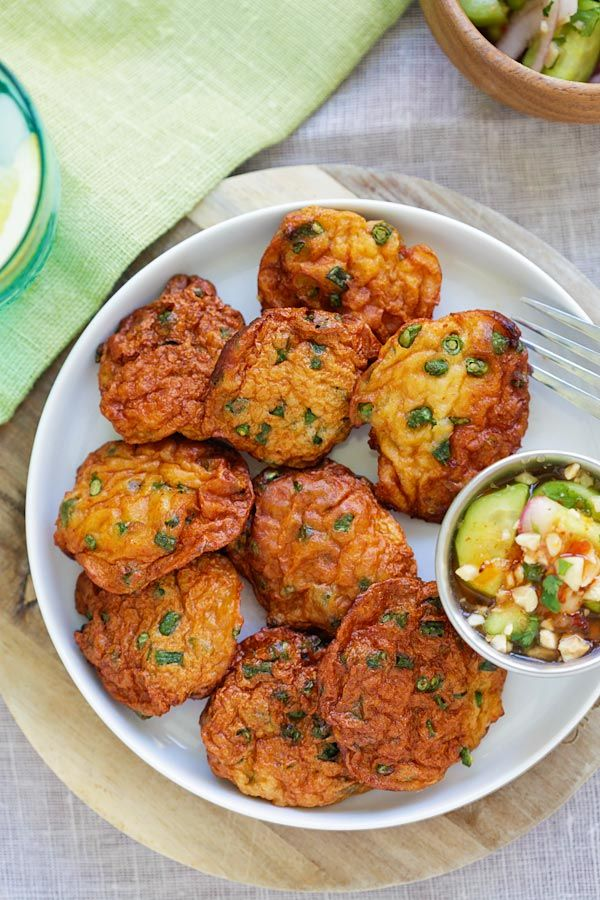 Thai Fish Cakes Best And Easiest Recipe Or Tod Mun Pla That