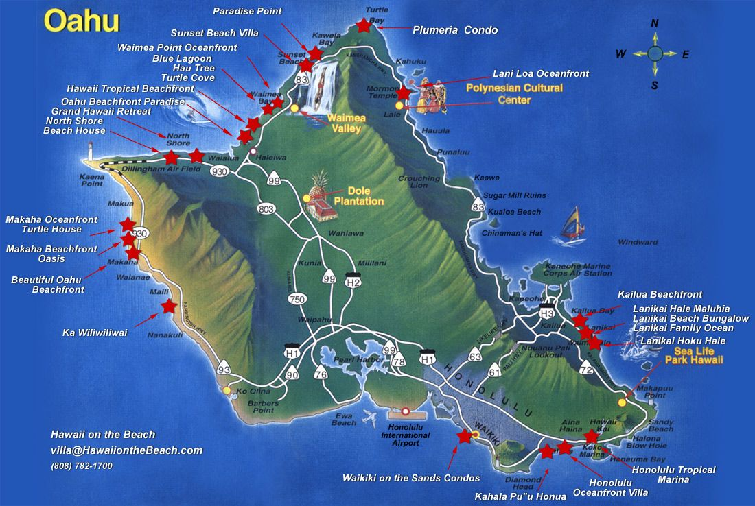 My New Home I Live On The Bottom Right Corner In Hawaii Kai