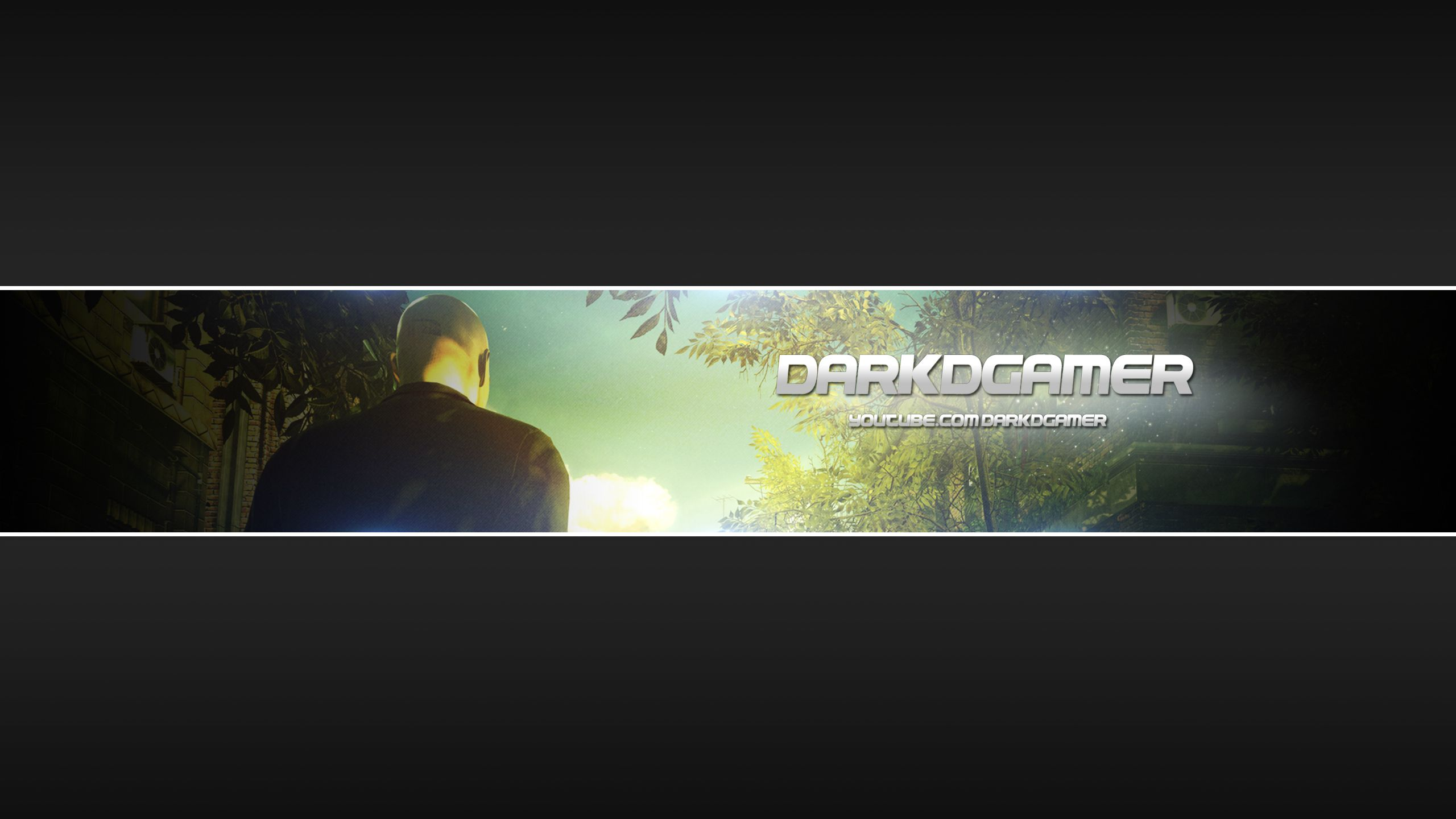 Hitman Absolution Youtube Banner Youtube Banners Movie Posters Movies