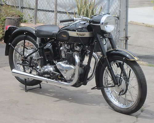 1951 Triumph 6t Black Bird 650cc Triumph Motorcycles Classic Motorcycles Triumph Motorbikes