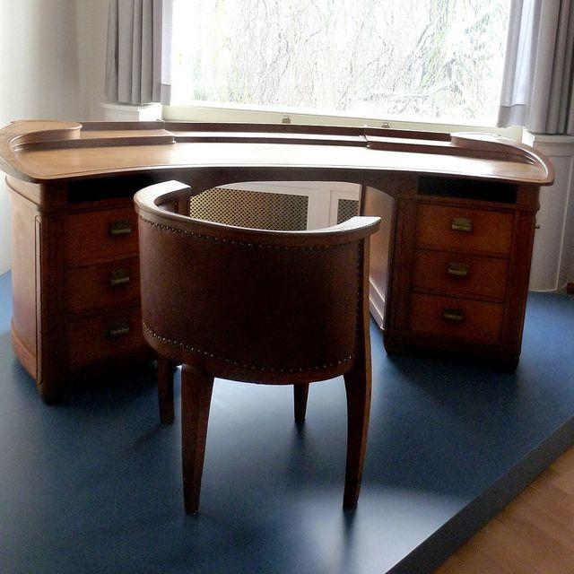 Villa Esche Schreibtisch Und Stuhl Von Henry Van De Velde Art