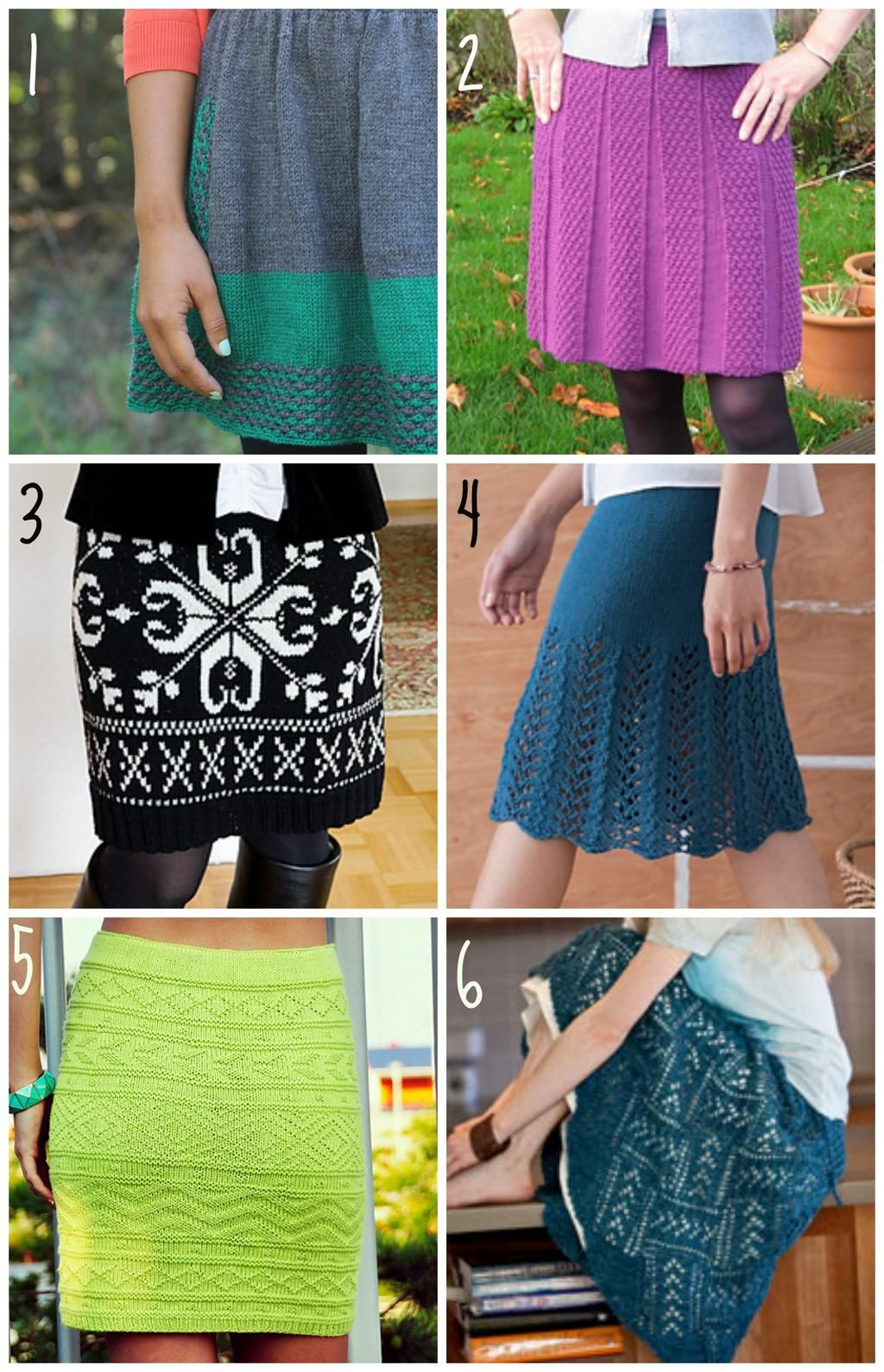 How do we feel about knitted skirts? Do you own one? Would you wear ...