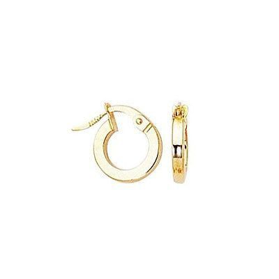 ea7b571e4eb7a2 14k Solid Gold Baby Children Hoop Hoops Earrings | Jewelry <3 ...