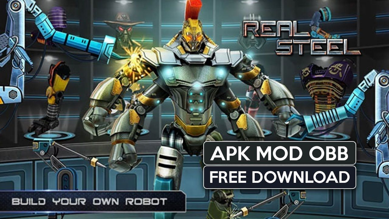 Real Steel Apk Mod OBB for Android free Download 2019