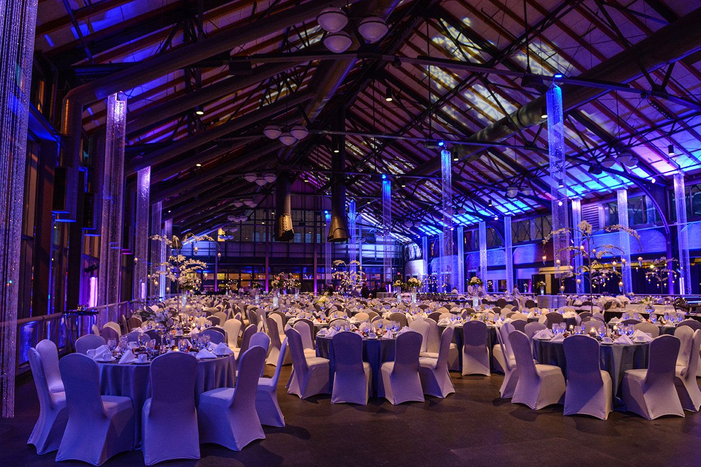 The Depot Minneapolis Table Setting Wedding Venues
