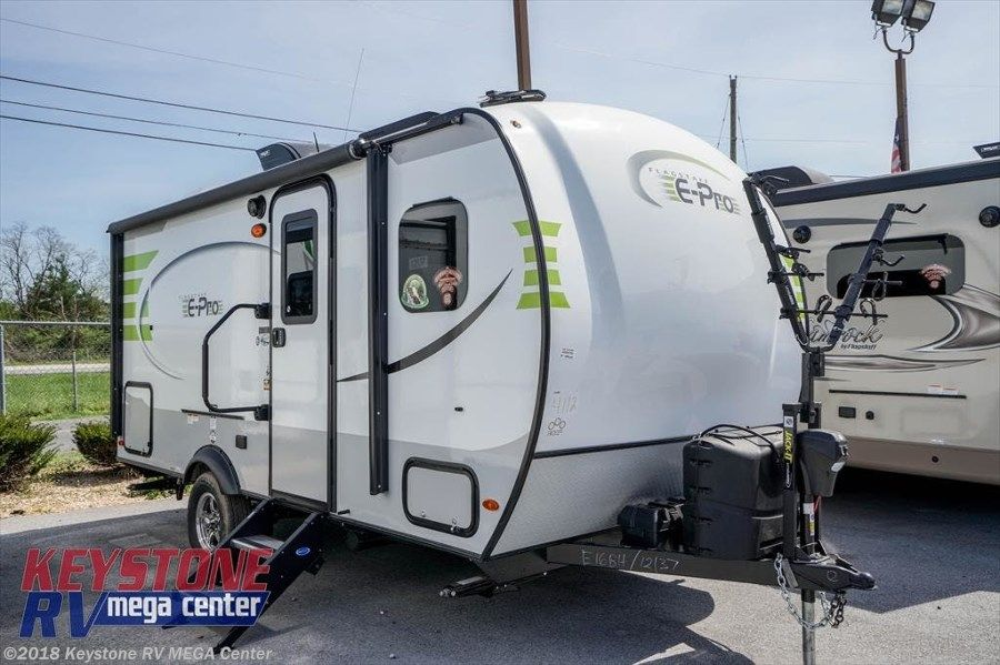 New Travel Trailer 2019 Forest River Flagstaff E Pro E16bh On