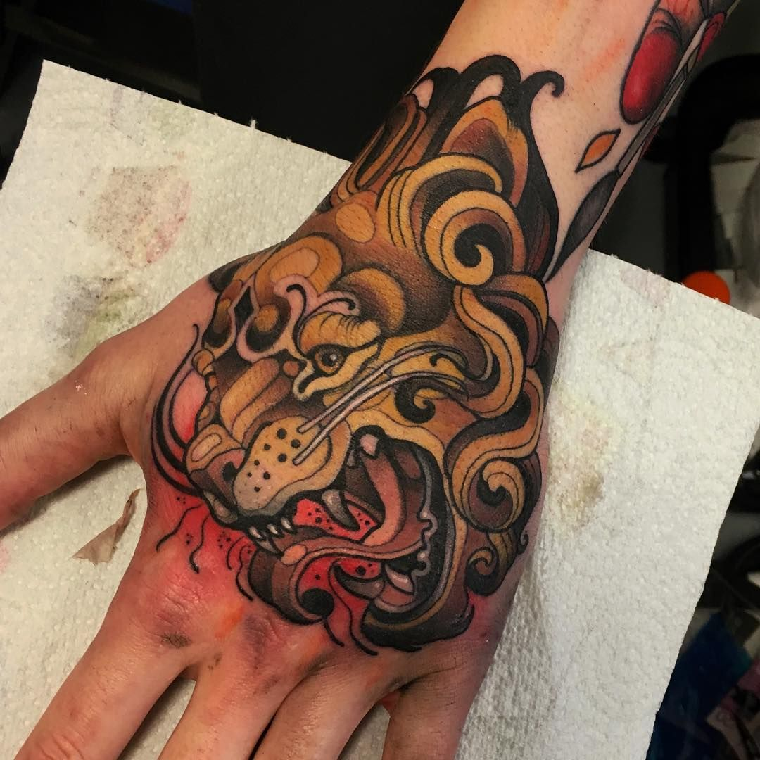Had A Great Time As Always At The Scottishtattooconvention I Ve Been Flat Out Japanese Hand Tattoos Traditional Hand Tattoo Tattoos
