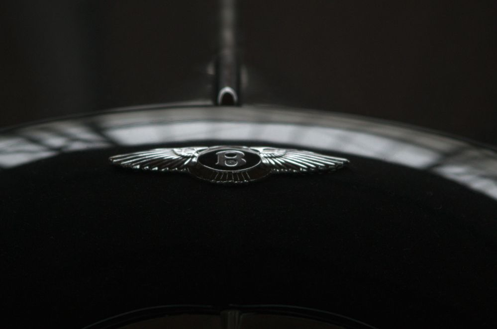 Bentley-Logo auf der Motorhaube