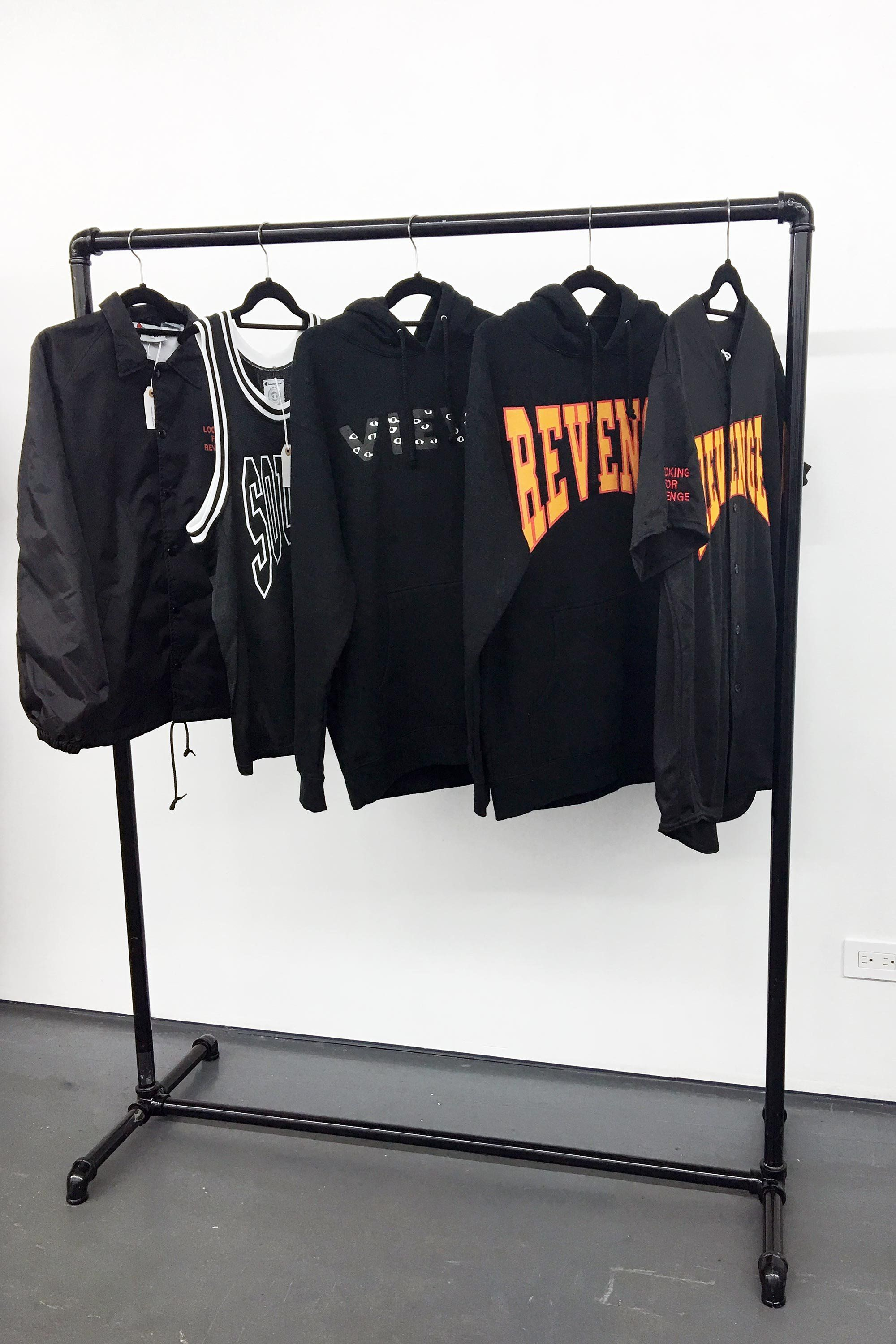 30d9b00acbe A selection of Summer Sixteen merch available at Drake's pop-up shop in New  York City
