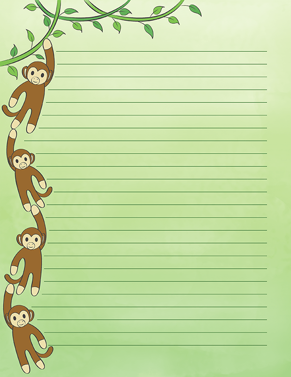 Monkey writing paper creative writing scholarships for college students