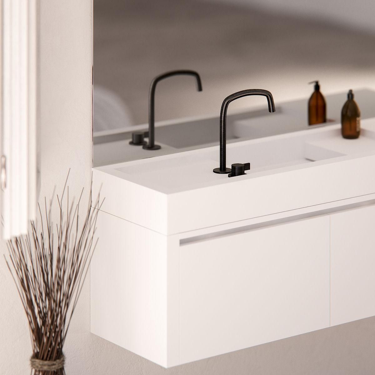 shape your own bathroom with piet booncocoon design taps and