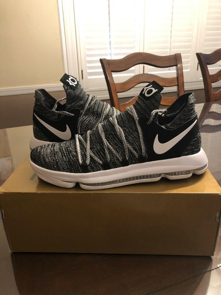outlet store eff05 1c83f Nike Zoom KD 10 Oreo Black White 897815-001 Sz 13  fashion  clothing  shoes   accessories  mensshoes  athleticshoes (ebay link)