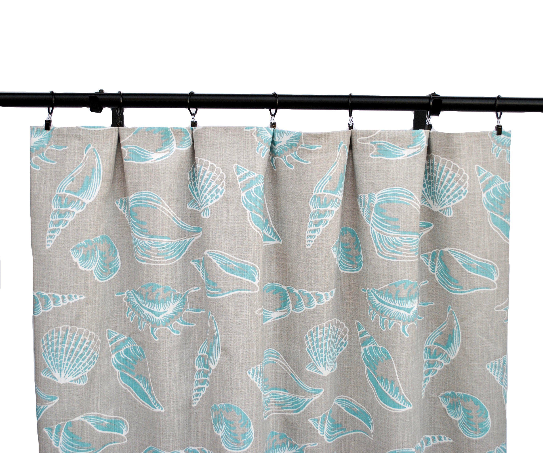 Coastal Curtains Grey Blue Curtain 2 Curtain Panels Curtains