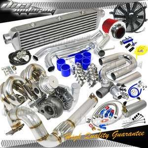 Electric supercharger Turbo turbocharger Kit