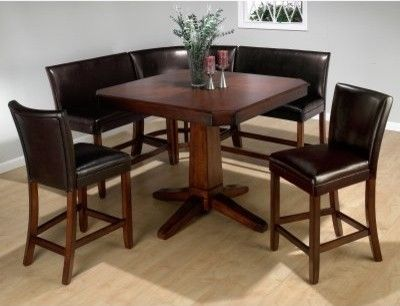 6 piece dining set in carlsbad cherry by jofran | Diy | Pinterest