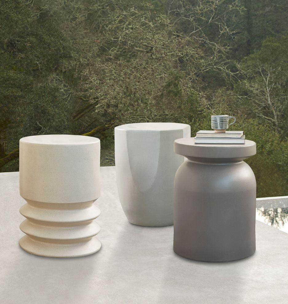 Ceramic Side Table Rejuvenation Modern Side Table Design Side Table Patio Side Table [ 990 x 936 Pixel ]