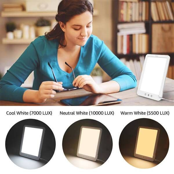 Tageslichtlampe 10000 Lux Tageslichtleuchte Led Bulb Led Uv Lamp