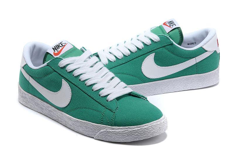 Nike Blazer Low Men's Skateboarding Shoes Inspiration green ...