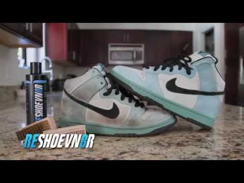 to clean Suede Nike SB with Reshoevn8r