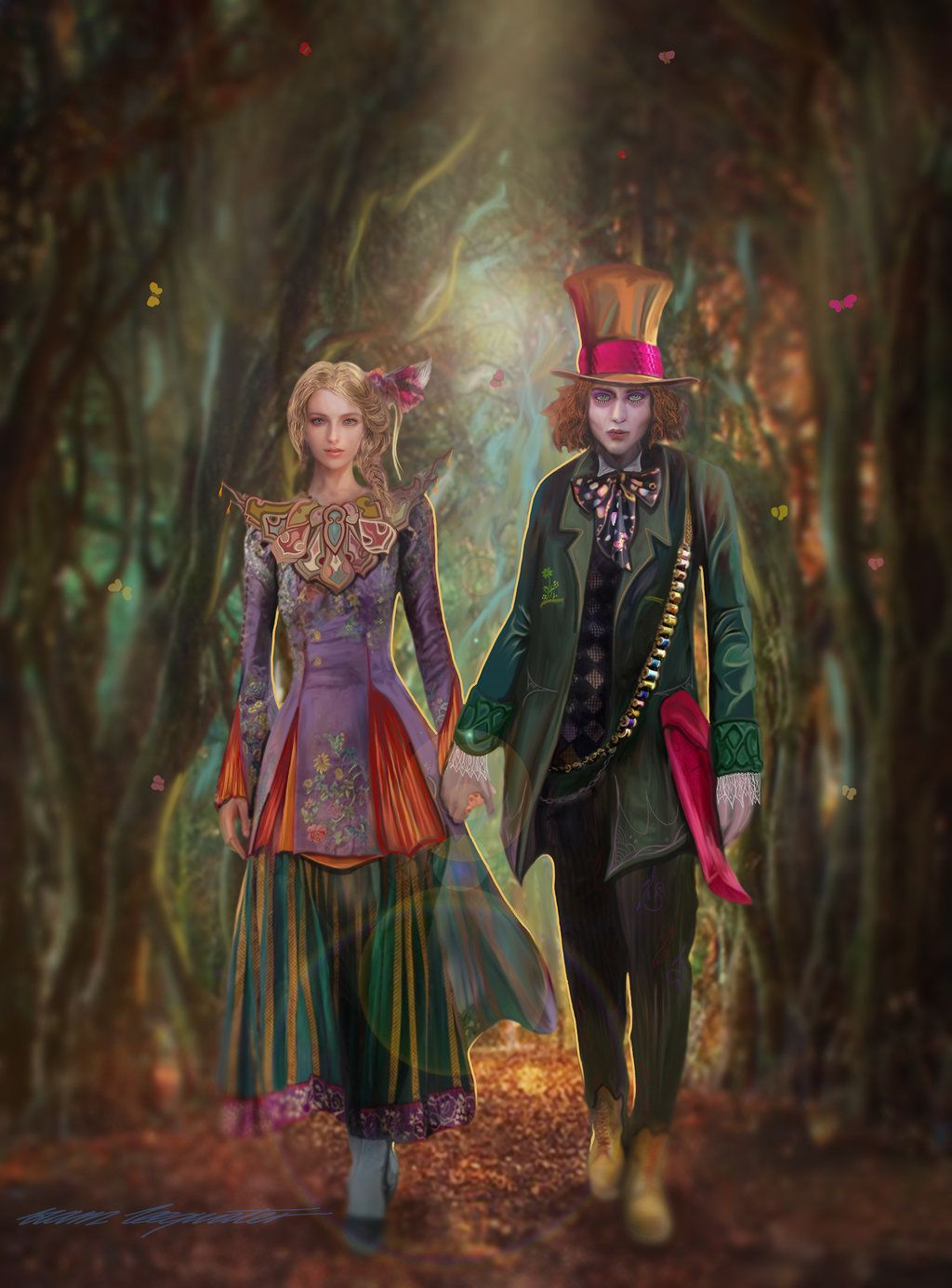 Alice Through The Looking Glass By Bramleegwater With Images