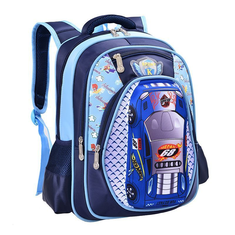 c214d9d8a114 2017 Hot Sale Orthopedics Schoolbags 3d Car Children School Bags High  Quality Cartoon Backpack Large Capacity Travel For Boys