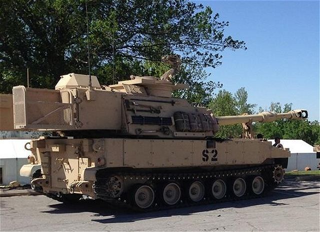 M109A7 SPH Paladin 155mm self-propelled howitzer technical data sheet specifications pictures ...