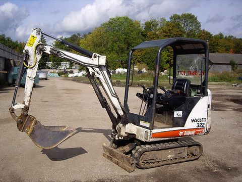 Bobcat Repair Manuals Mini Excavator Excavator Parts