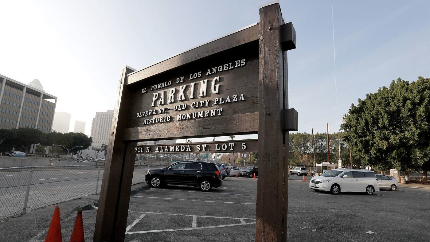 Temporary Trailers For Homeless People Planned On Downtown City Lot Olvera Street City Homeless People