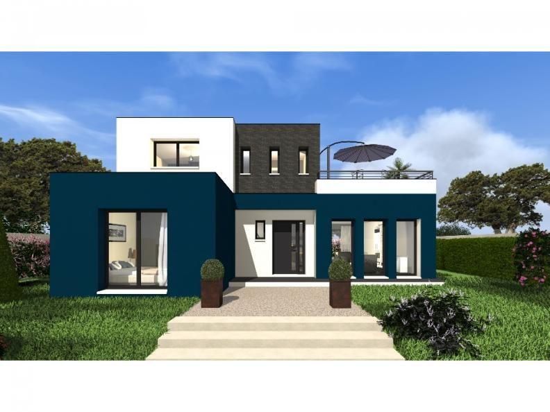 Tertre 145 - Cette maison moderne aux volumes cubiques offre une ...
