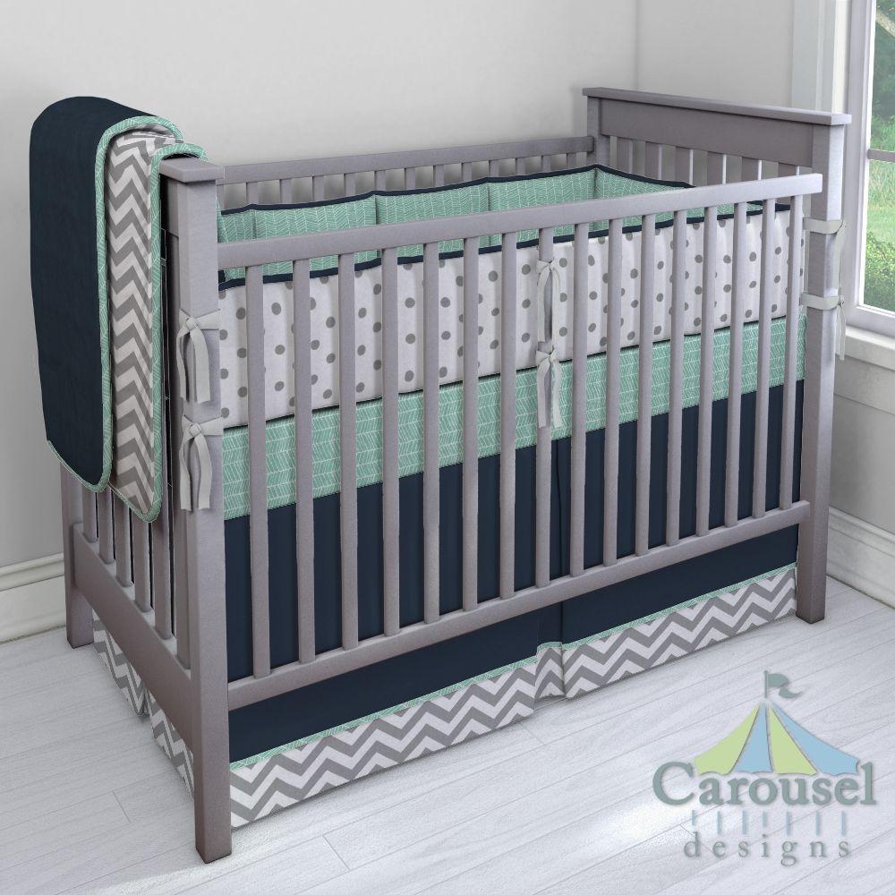 Custom Nursery Bedding Baby Boy Nursery Decor Crib