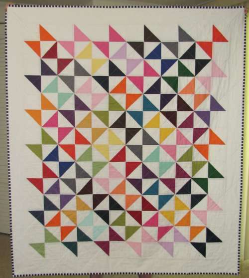 Kona Hourglass quilt by Sewfantastic; fount at Modern Day Quilts ... : modern day quilts - Adamdwight.com
