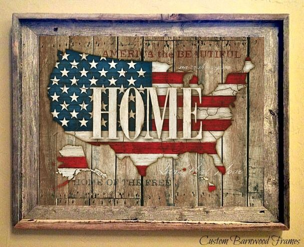 custom barnwood frames usa home framed print 4900 http