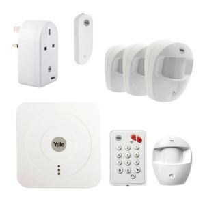 Yale Wireless Smart Home Starter Alarm With Accessories Bundle Smart Home Alarm System Alarm Systems For Home Smart Home