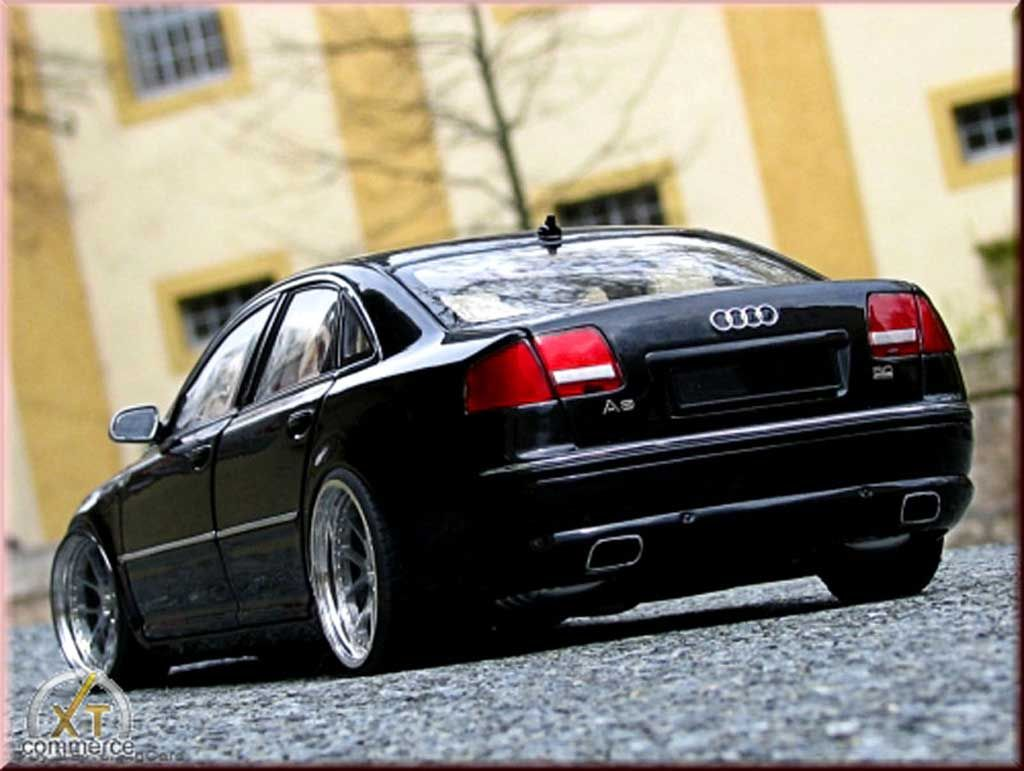 Audi A8 Black Wheels