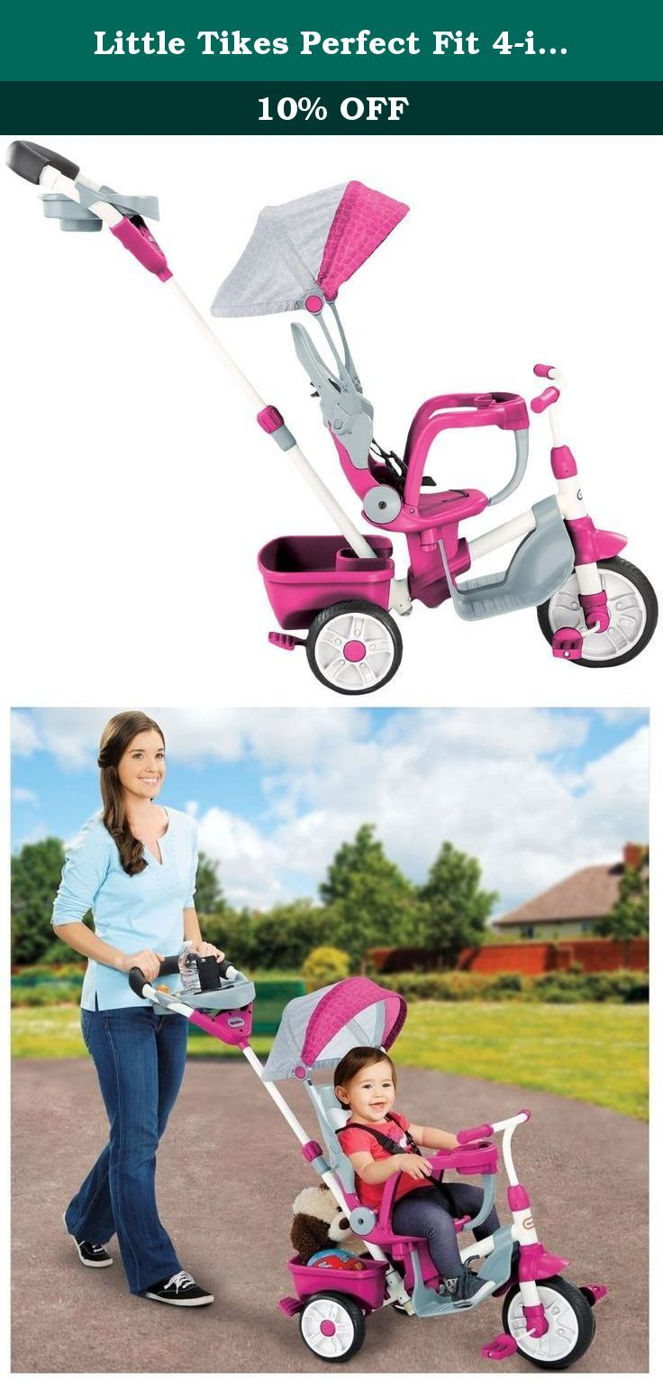 Little Tikes Perfect Fit 4in1 Trike, Pink. The Perfect