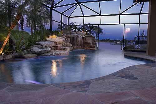 florida pool design   Florida Swimming Pool Design - Stone ...