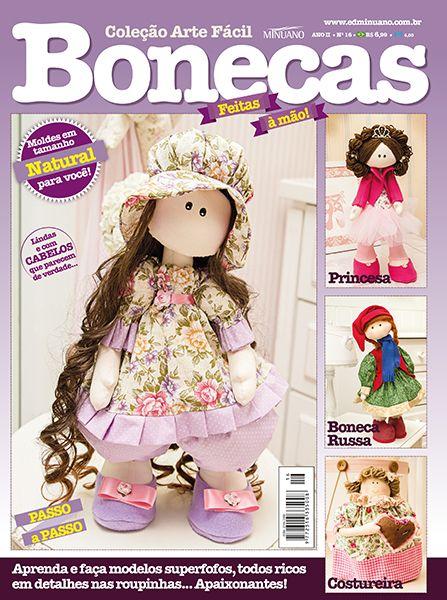 Artesanato Facil ~ Artesanato Bonecas COL ARTE FACIL BONECAS 016 Editora Minuano Revistas Bonecas Muñecas