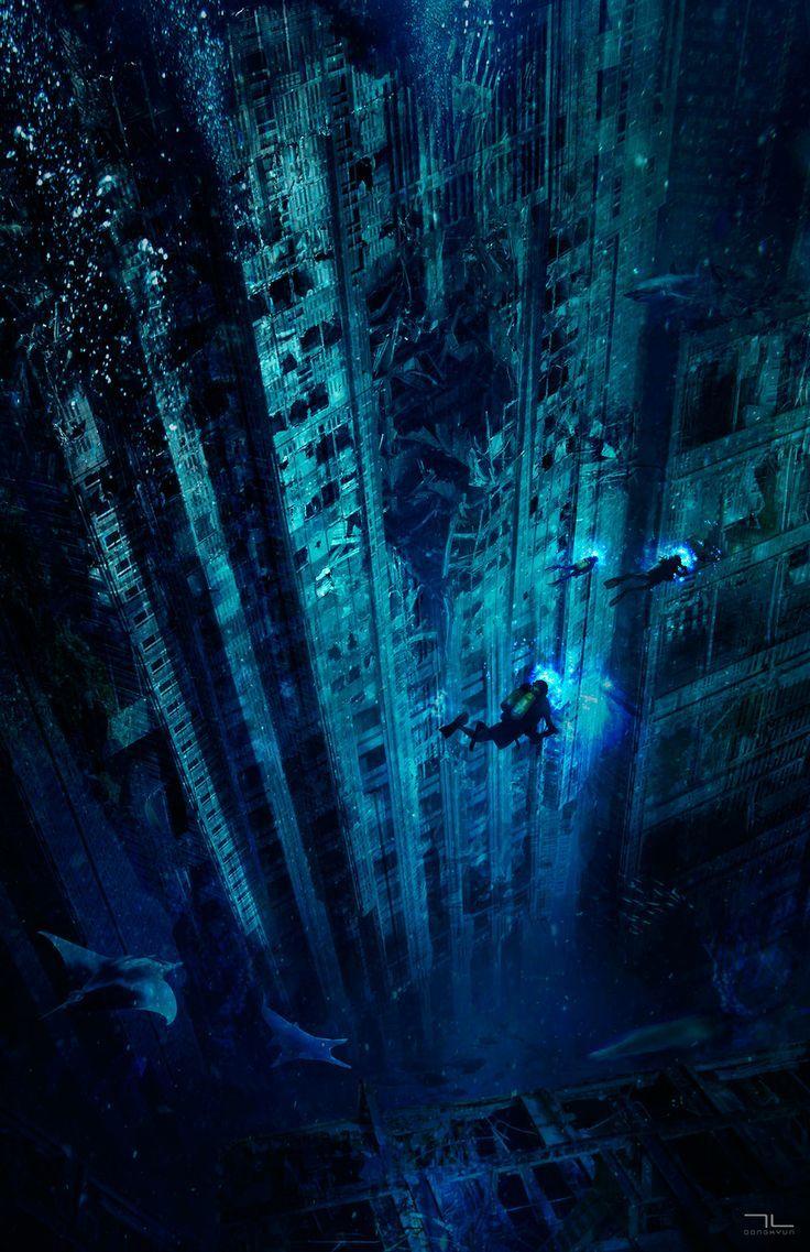 Underwater Fantasy City