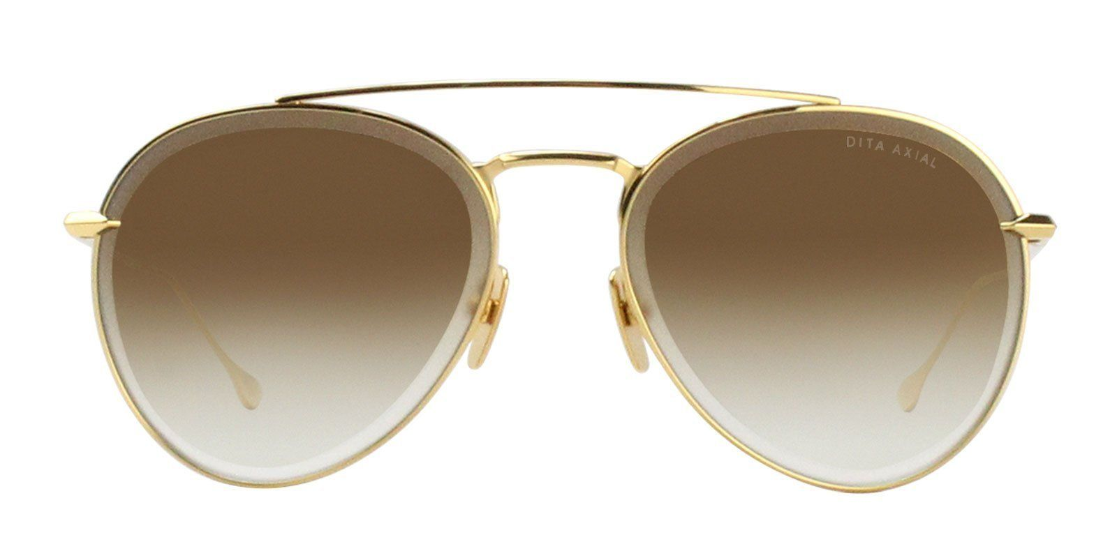 6ce3afe25a1 Dita - AXIAL Yellow Gold - Dark Brown to Clear - Gold Flash sunglasses
