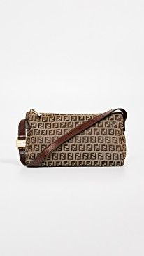 9a4363ade Fendi Brown Zucchino Small Shoulder Bag in 2019 | The Most Stylish ...