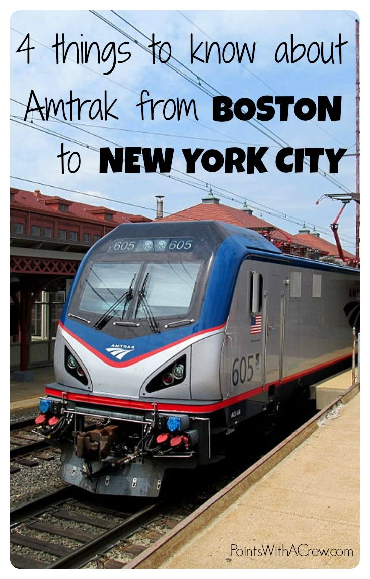 Amtrak Boston To Nyc Review Amtrak Amtrak Train Travel Amtrak Train