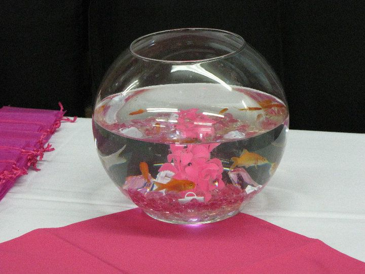 Looking for fish bowl centerpieces kids birthday you