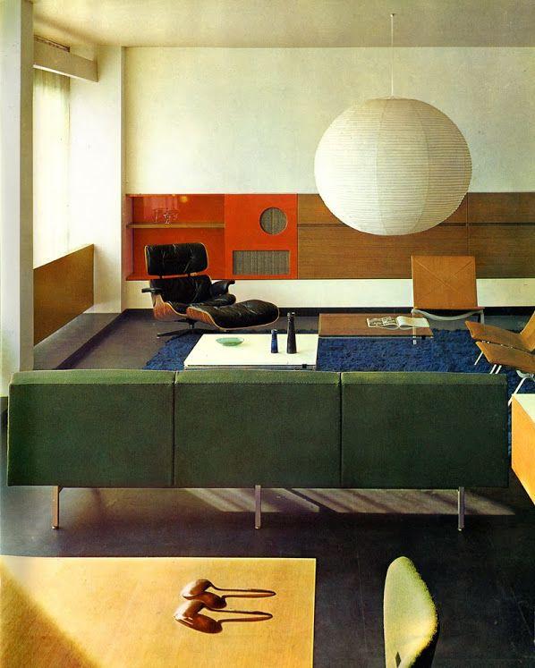 Int rieur design fran ais andr monpoix 1961 dans l for Interieur maison 1960