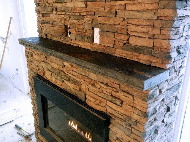 Slate Rock Fireplace Mantels Slate Fireplace Mantel 002 Blueslate Woodstone In 2020 Slate Fireplace Fireplace Mantelpiece Fireplace