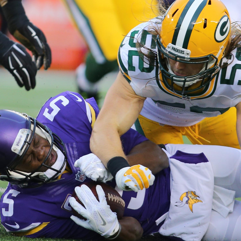 Packers Vs Vikings Score And Twitter Reaction From 2015 Regular Season Packers Vs Vikings Packers Baby Vikings Packers