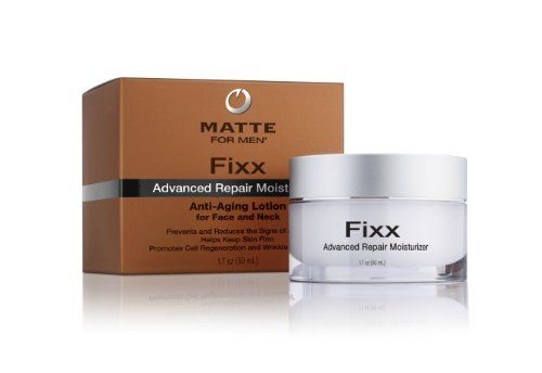 Special Offer For - Matte for Men Fixx Advanced Repair Moisturizer, 1.7-Ounce - Fixx advanced repair moisturizer is the effective, targeted, and simple way to reduce and repair the effects that time and the environment have on a man