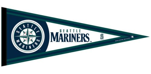 "SEATTLE MARINERS 12"" X 30"" Baseball Pennant - NEW!"