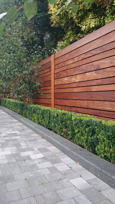 Contemporary Screening , Fencing U0026 Wall Panels: Modern Garden By Paul  Newman Landscapes