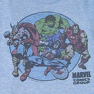 Camiseta Vintage Os Vingadores Marvel